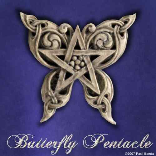 Butterfly Pentacle - Click Image to Close