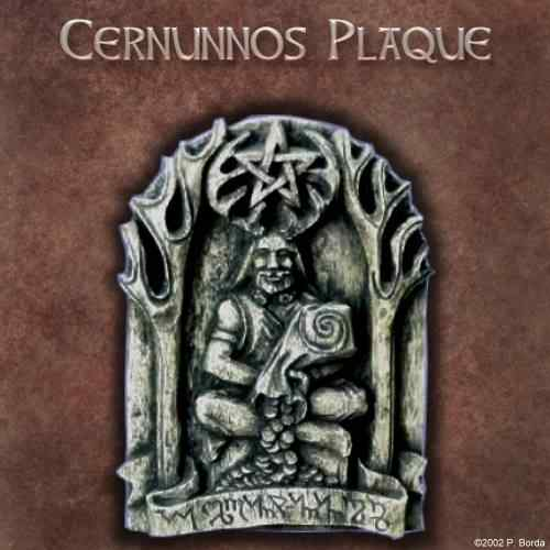 Cernunnos Plaque - Click Image to Close