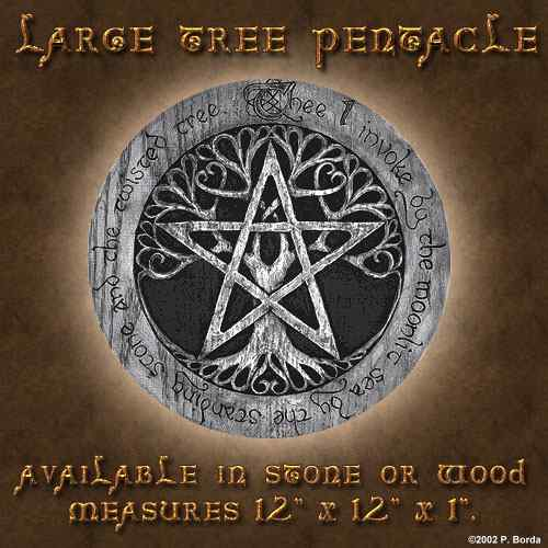 Large Tree Pentacle - Click Image to Close